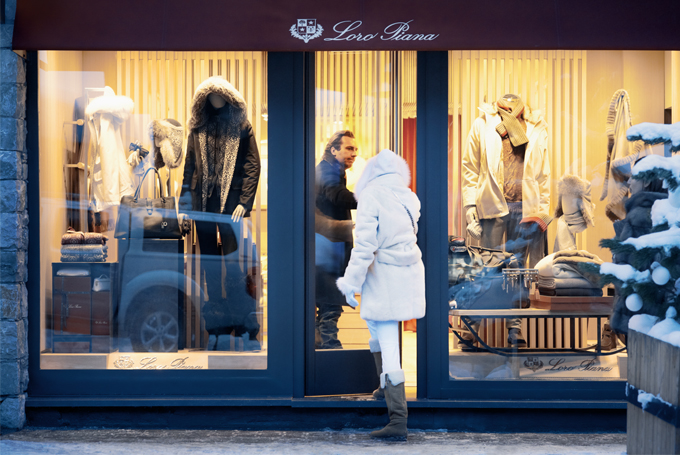 courchevel shopping during your ski holiday